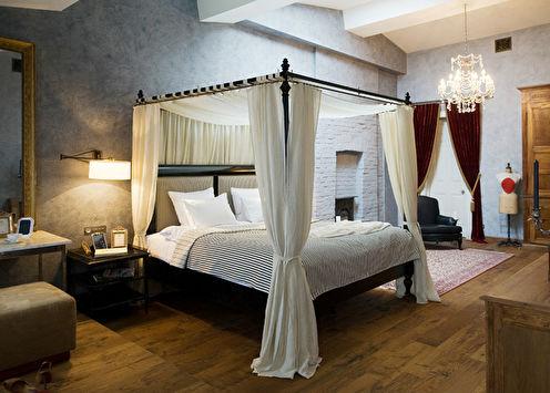 Спальня на мансарде, 48 м2