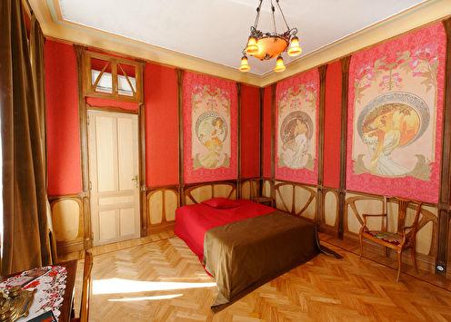 Спальня в стиле арт-нуво, Франция