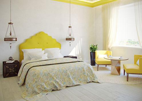 «Дом солнца»: Спальня в восточном стиле