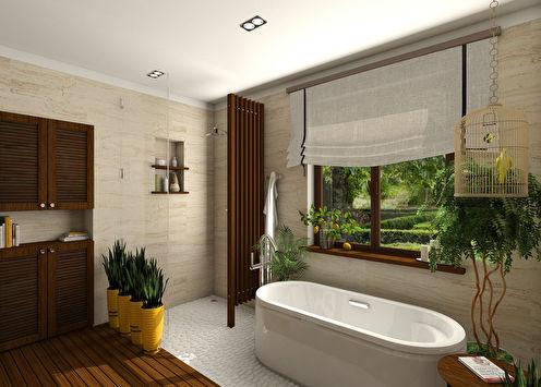 Ванная комната «И пусть весь мир подождет»