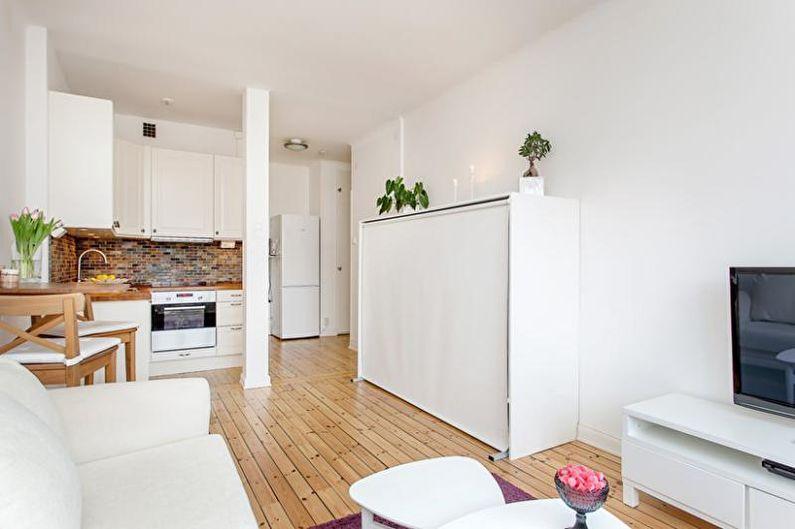 Дизайн однокомнатной квартиры 30 кв.м. - Стиль интерьера