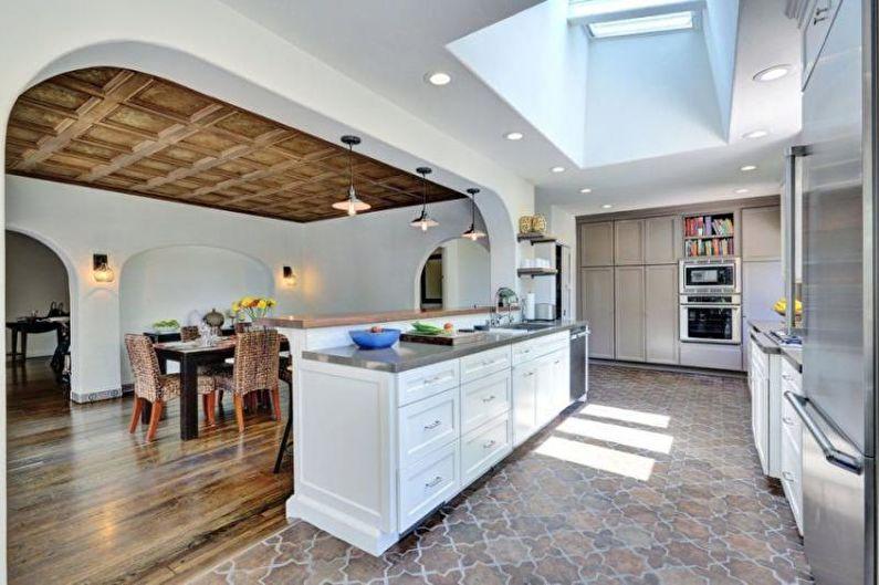 Плитка для кухни на пол - Прессованная плитка