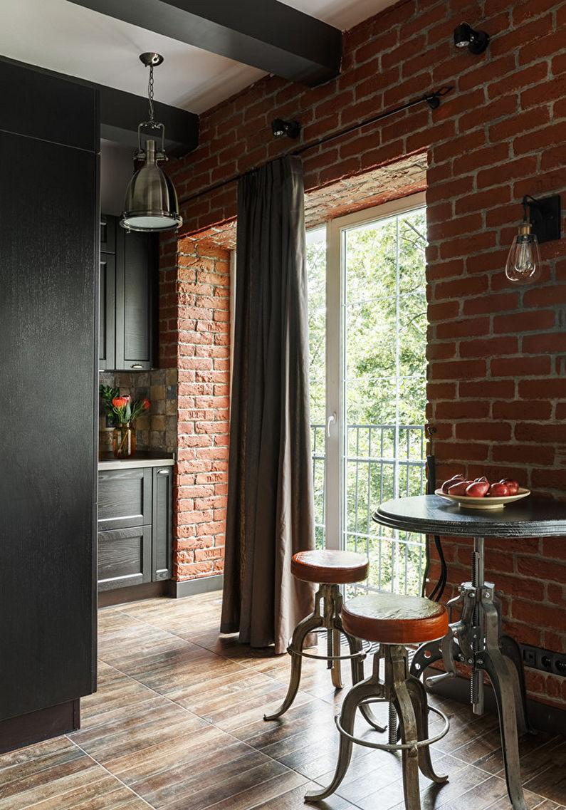 Плитка для кухни на пол - Плюсы и минусы