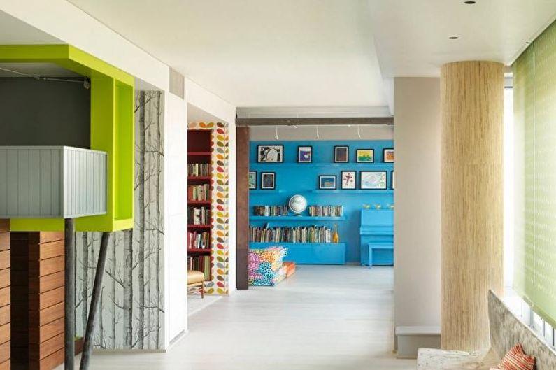 Дизайн трехкомнатной квартиры - Правила оформления