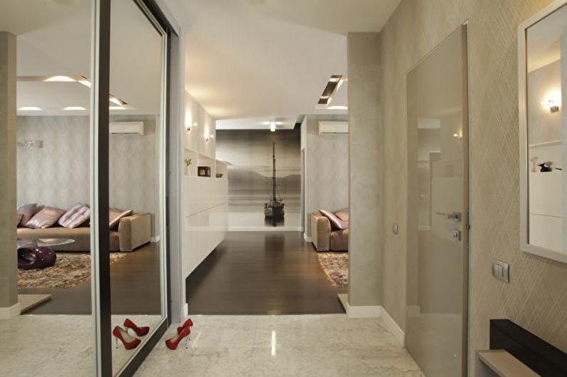 Трехкомнатная квартира дизайн интерьера фото