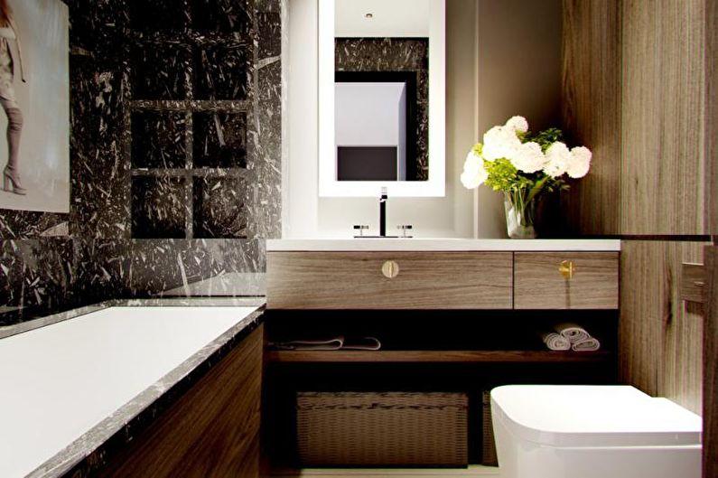 Ванная комната - Дизайн трехкомнатной квартиры