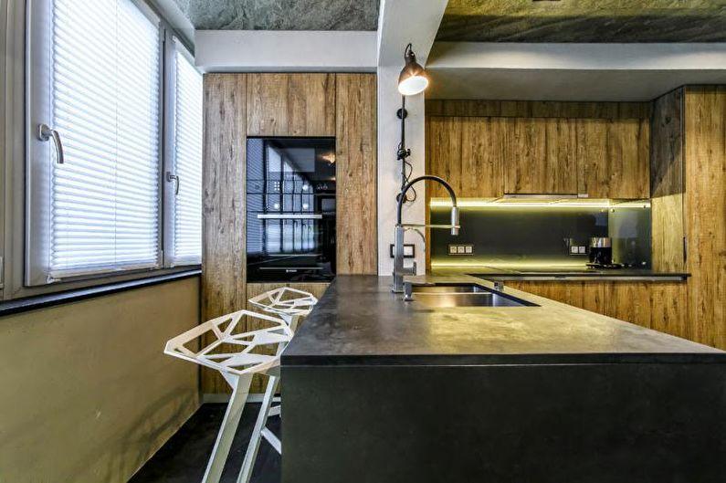 Дизайн интерьера трехкомнатной квартиры - фото