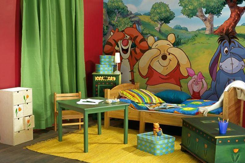 Обои для детской комнаты - Как выбрать обои в квартиру