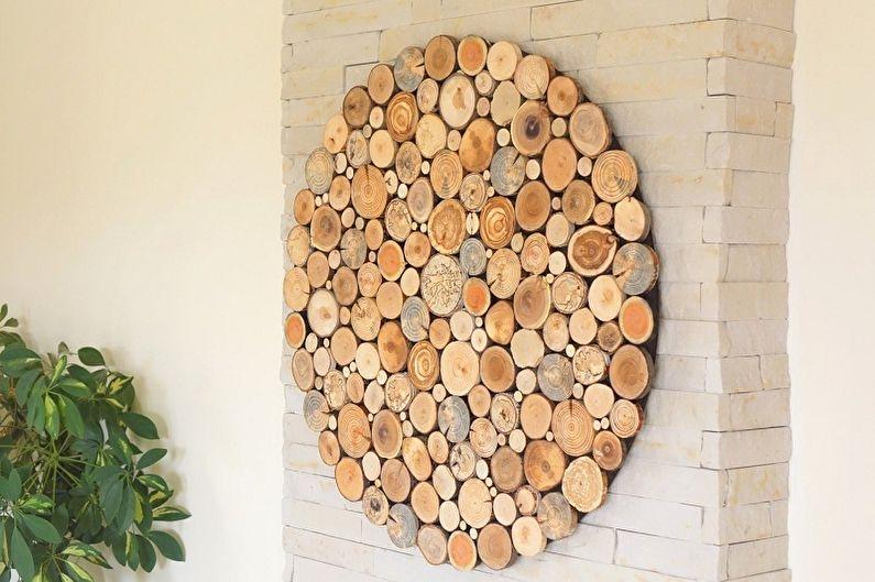 Картины для интерьера своими руками - Картины из дерева