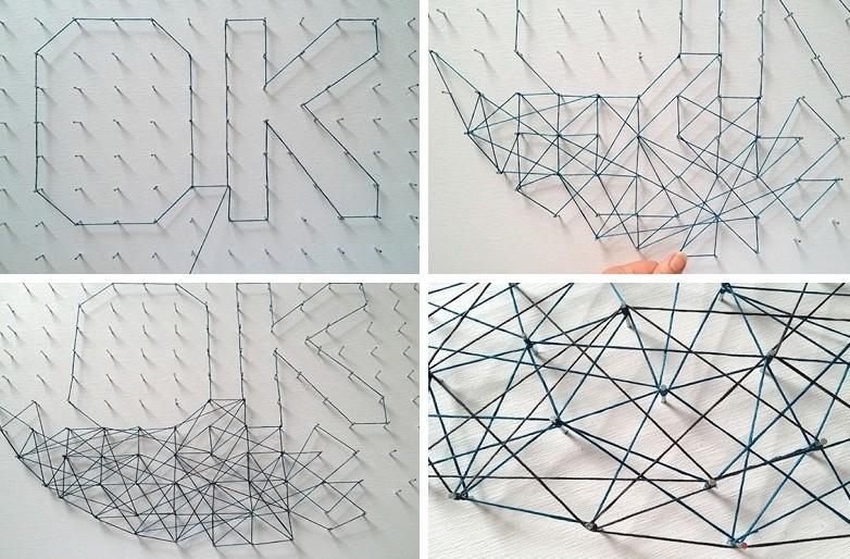 Картины для интерьера своими руками - Стринг-арт