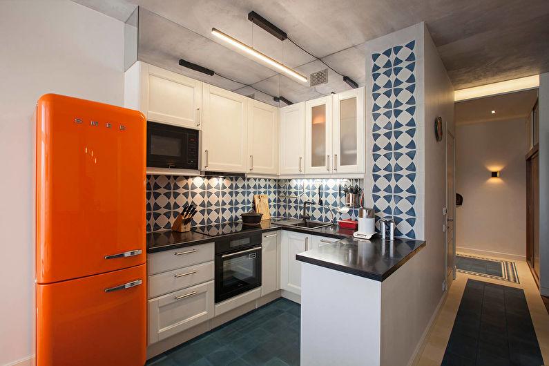 Дизайн светлой кухни - Мебель и техника