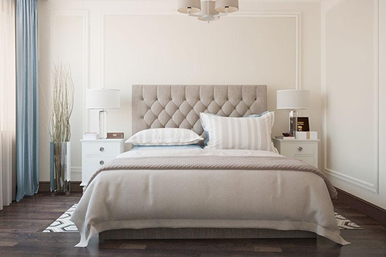 Дизайн белой спальни - Освещение