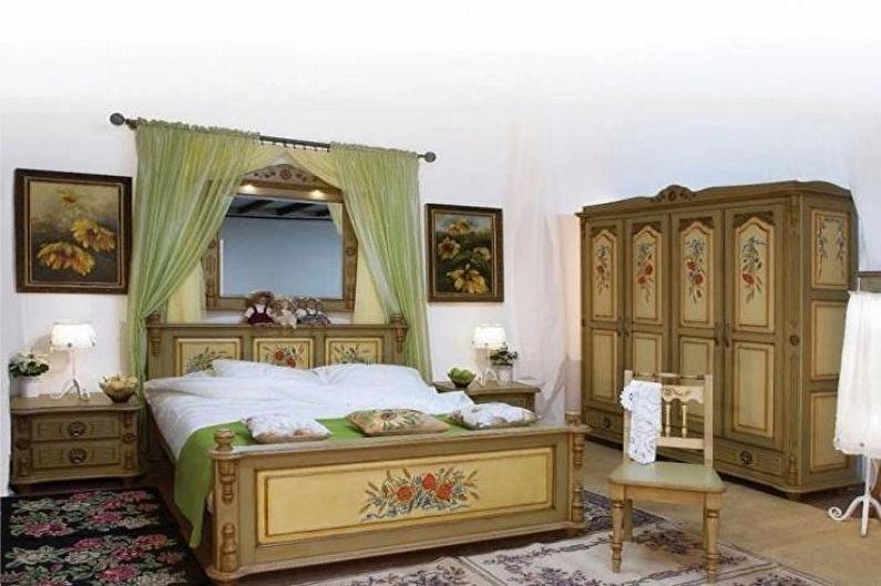 Декупаж кровати - Декупаж мебели своими руками