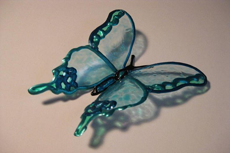 Поделки из пластиковых бутылок своими руками - Бабочки