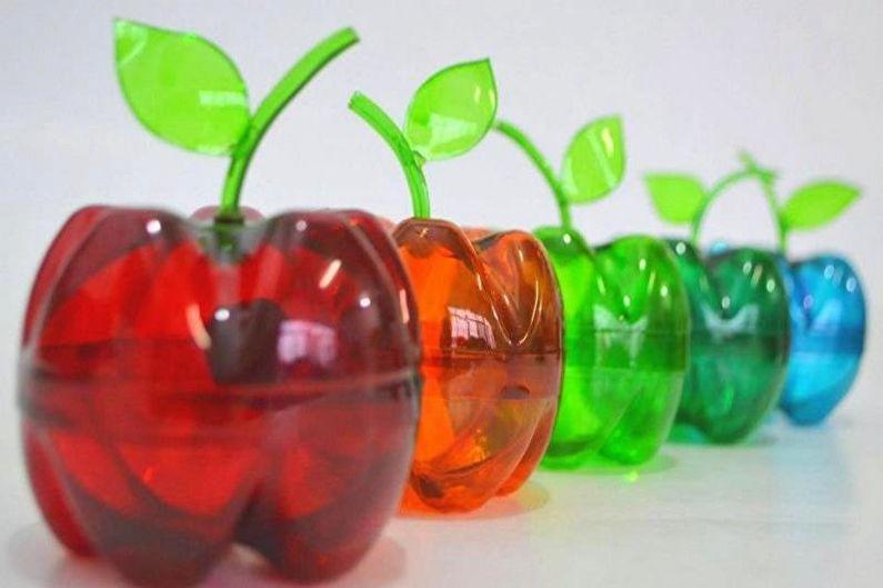 Поделки из пластиковых бутылок своими руками - фото