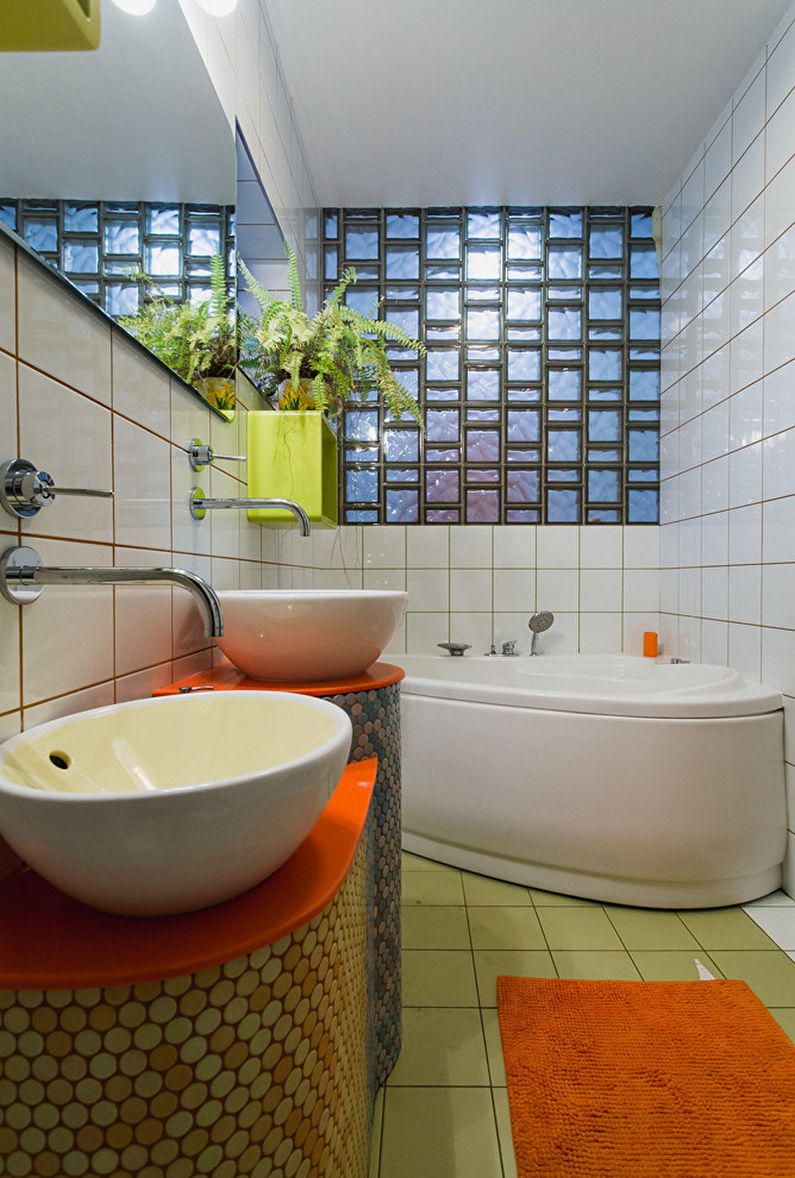 стеклоблоки в интерьере квартиры 85 фото красивые идеи дизайна