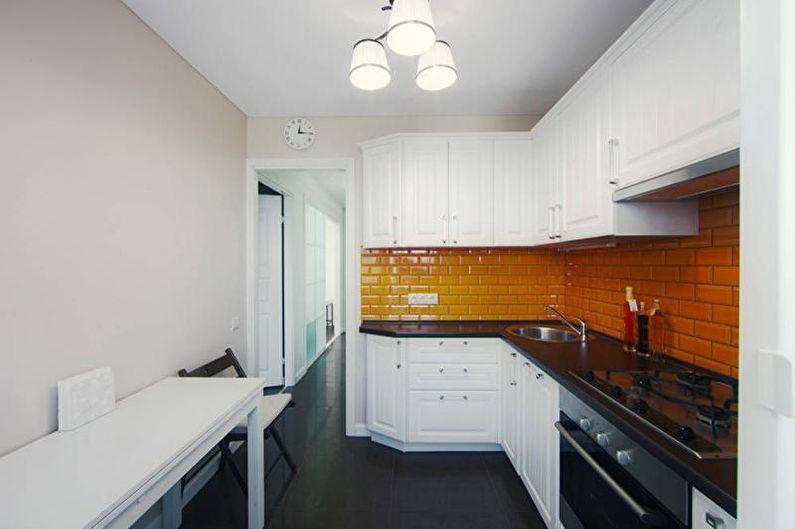 Дизайн черно-белой кухни - Сочетания цветов