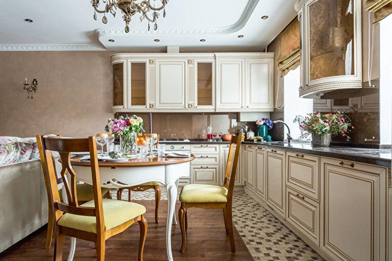 Маленькая кухня в стиле арт-деко - Дизайн интерьера