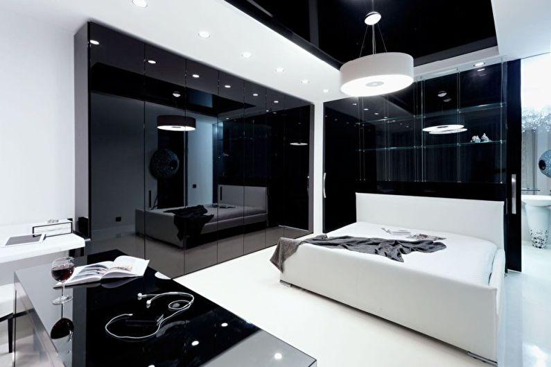 Спальня - Дизайн квартиры в стиле минимализм