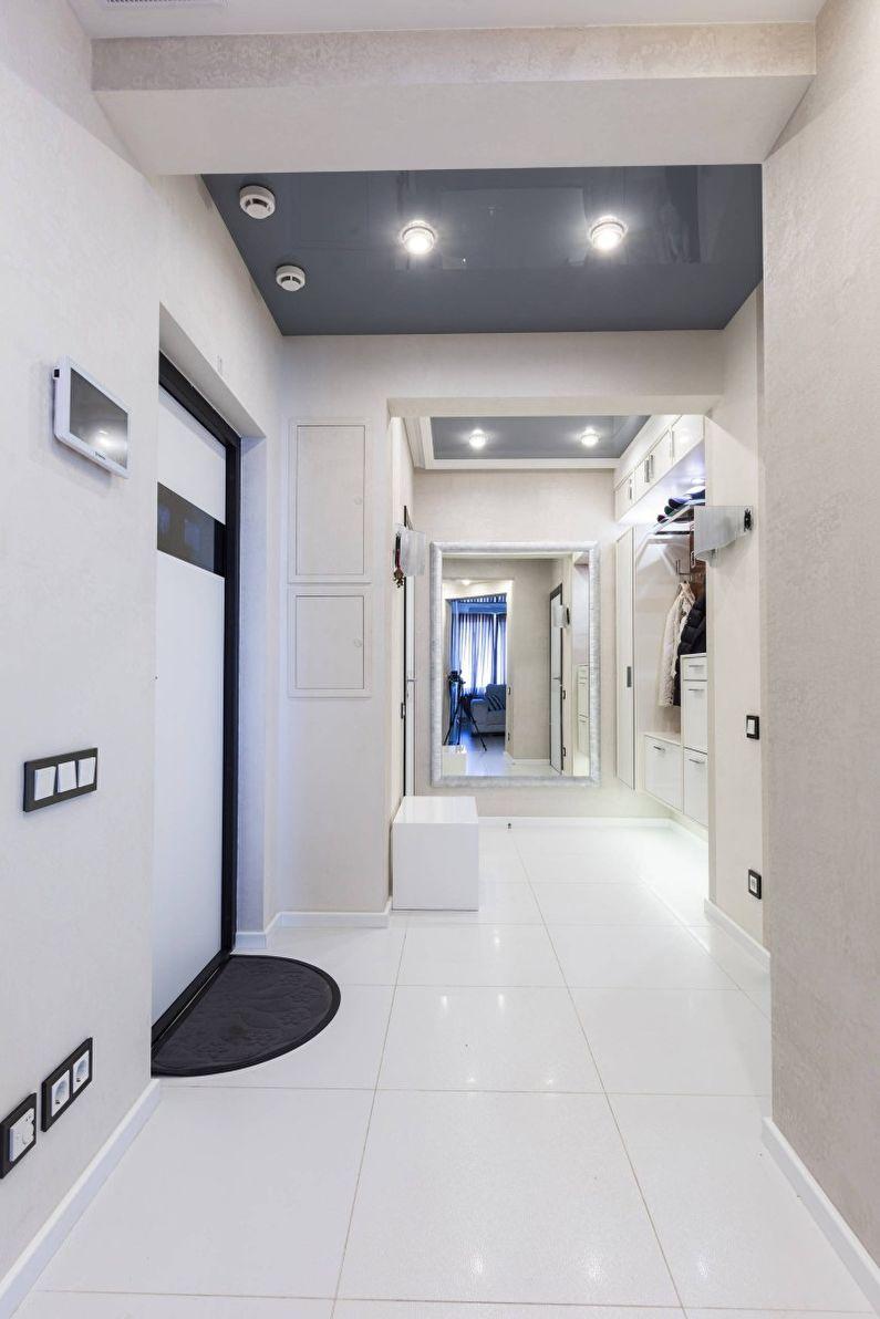 Прихожая - Дизайн квартиры в стиле минимализм