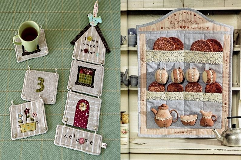 Пэчворк в интерьере кухни - Красивые идеи