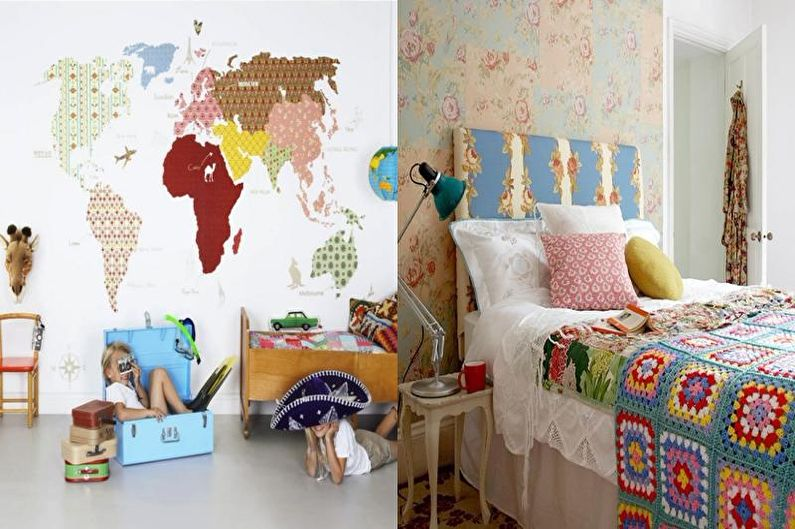 Пэчворк в интерьере детской комнаты - Красивые идеи
