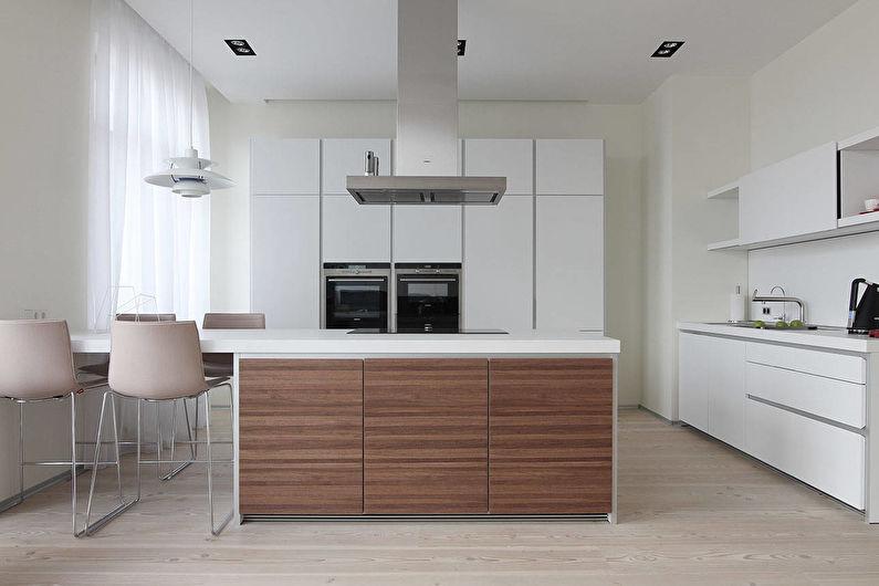 Кухня в светлых тонах: 85 фото интерьеров, идеи дизайна и ремонта