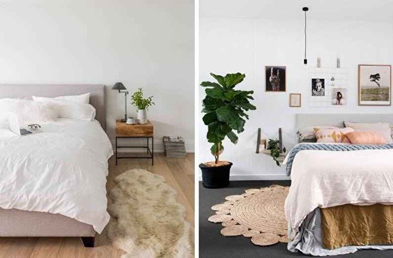 70+ идей дизайна белой спальни (фото)