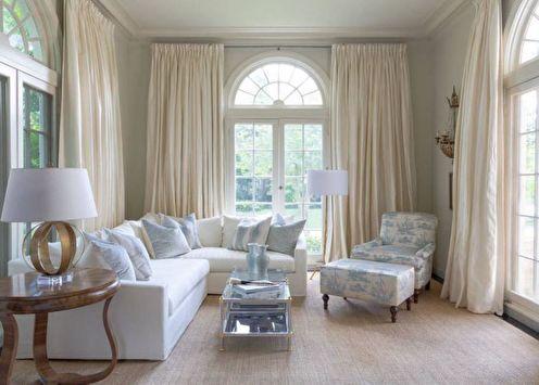 80+ идей дизайна штор для гостиной (фото)