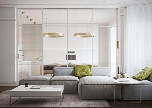 Honey White: Интерьер квартиры