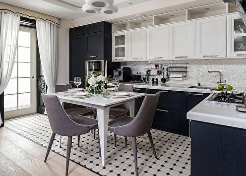 Дизайн кухни в стиле арт-деко (90 фото)