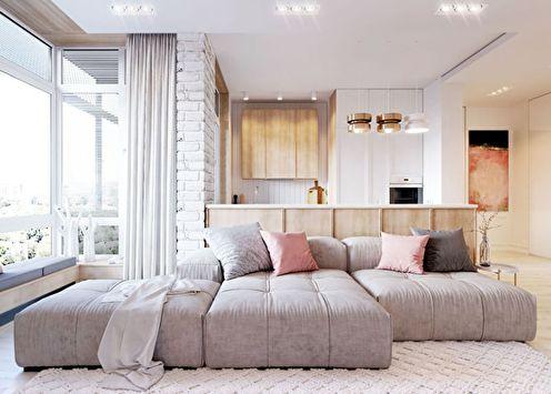 Квартира в стиле минимализм: 70 идей дизайна