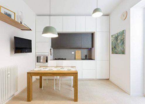 70+ идей дизайна белой кухни (фото)