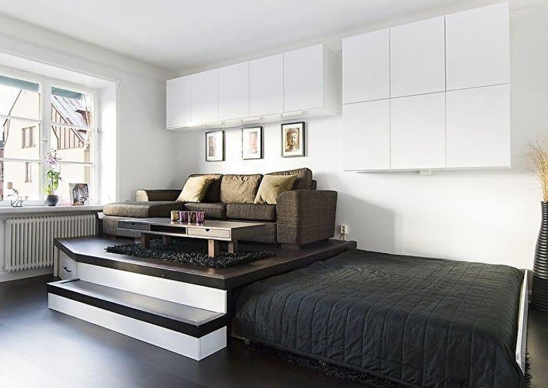 Дизайн интерьера спальни в хрущевке - Подиум