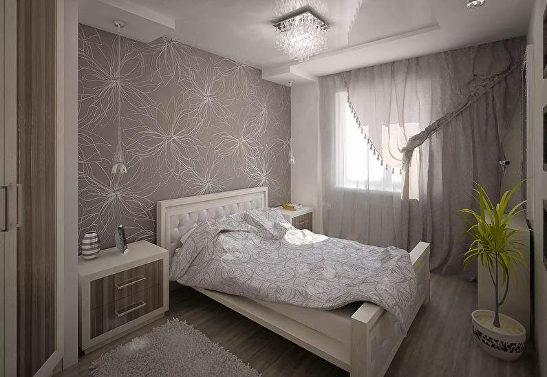 дизайн спальни в хрущевке 60 фото идеи интерьеров