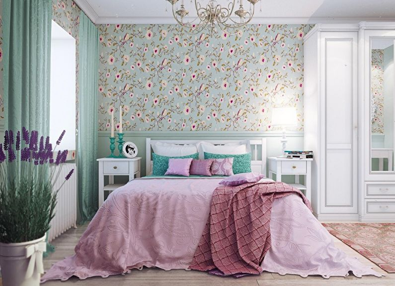 Дизайн спальни в хрущевке - Стиль прованс