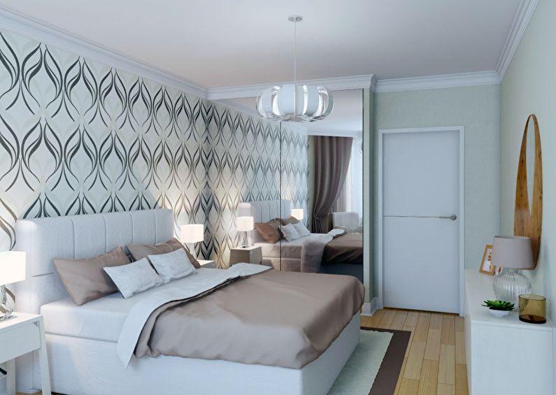 Дизайн интерьера спальни в хрущевке - Текстиль и декор