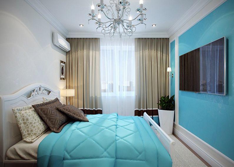 интерьер спальни в хрущёвке фото