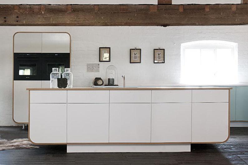 Дизайн кухни 8 кв.м. в современном стиле