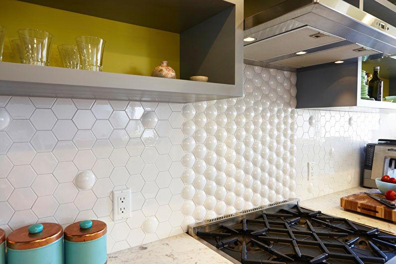 Кухня 8 кв.м. - отделка стен