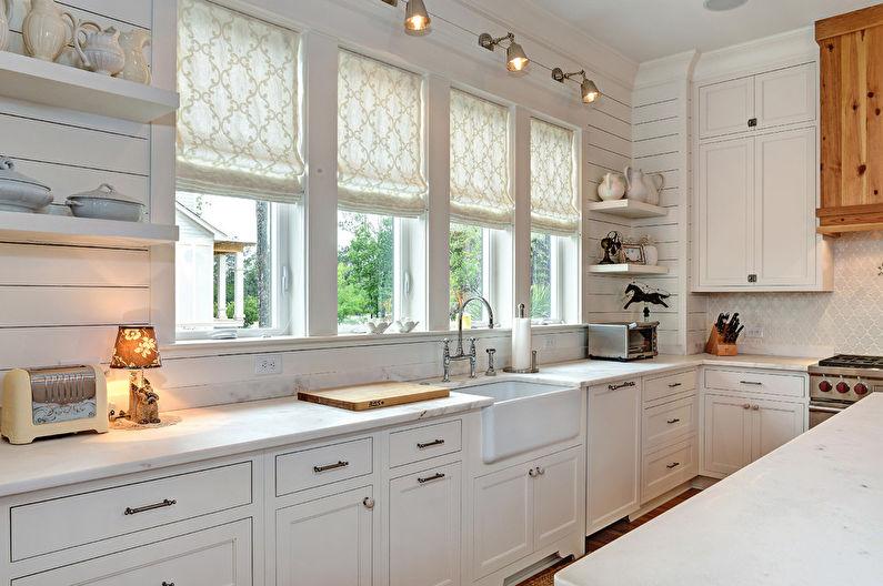 Кухня 8 кв.м. - декор и текстиль