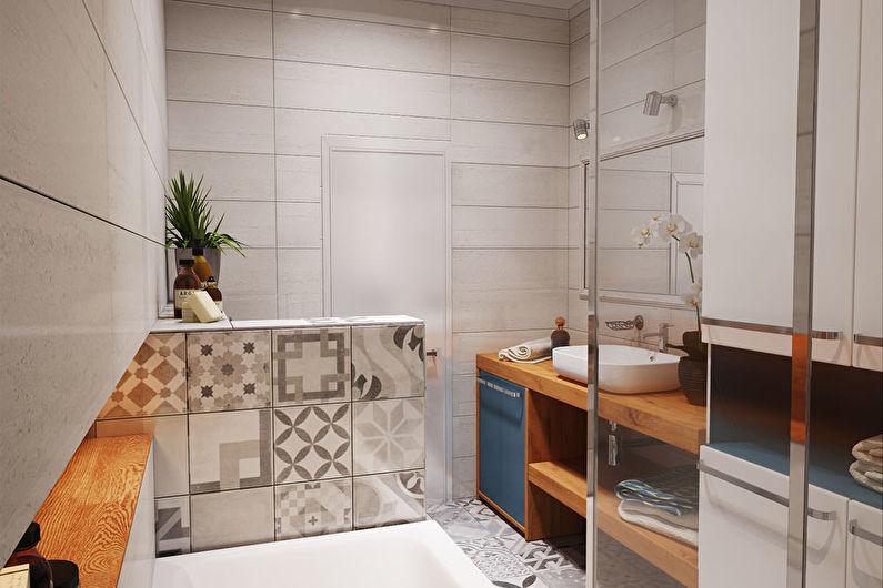 Современная однокомнатная квартира 40 кв.м. – дизайн интерьера