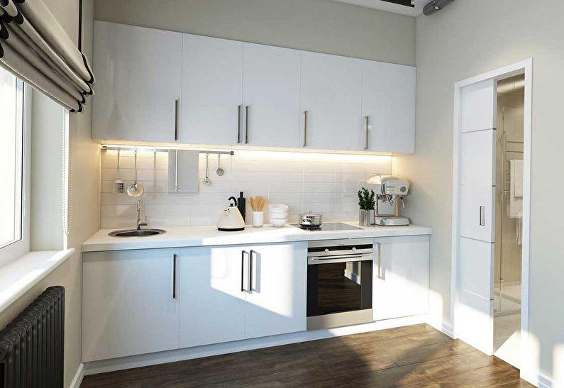 Маленькая кухня в современном стиле - дизайн интерьера