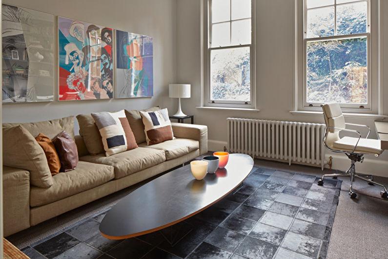 Цветовая палитра для гостиной 18 кв.м. - дизайн интерьера