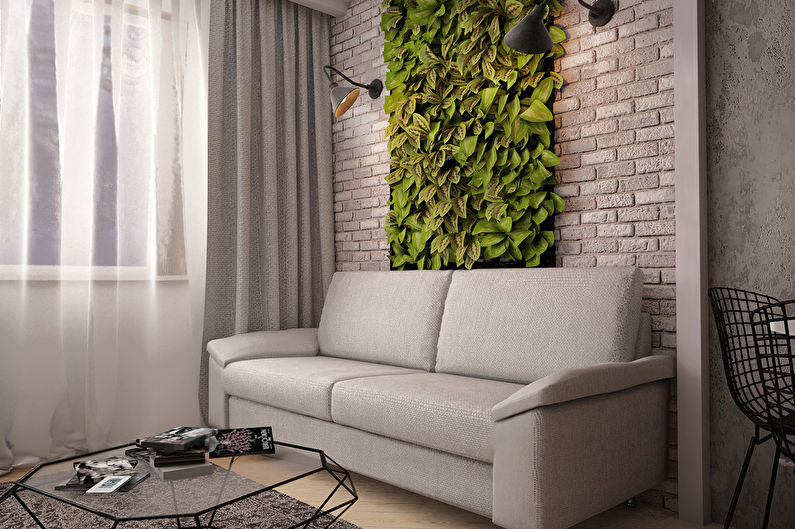 Дизайн гостиной 18 кв.м. - декор и текстиль