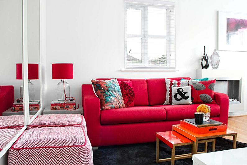 Дизайн гостиной 18 кв.м. - как расставить мебель