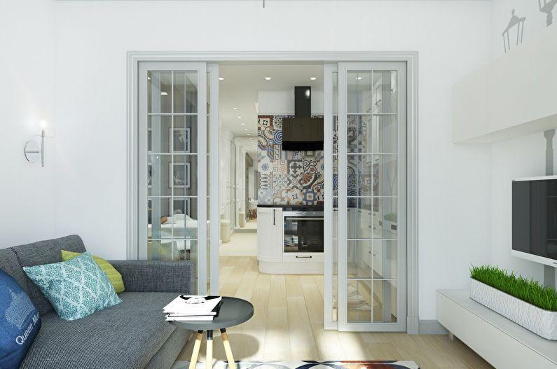 Дизайн маленькой квартиры-студии от Design Studio Mango
