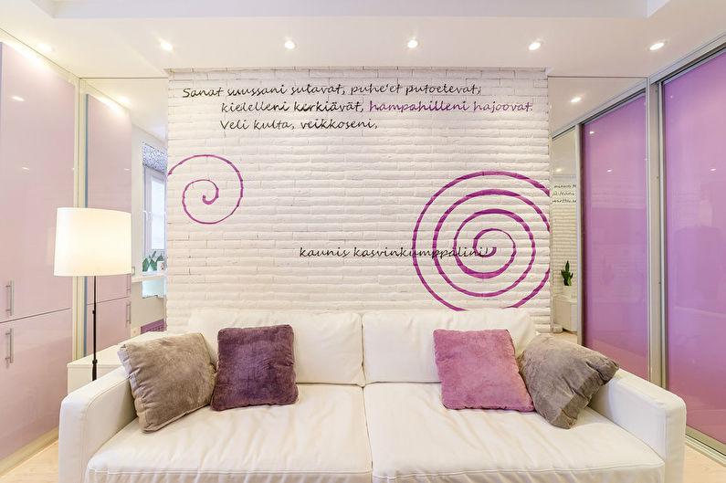 Дизайн маленькой квартиры 20 кв.м.