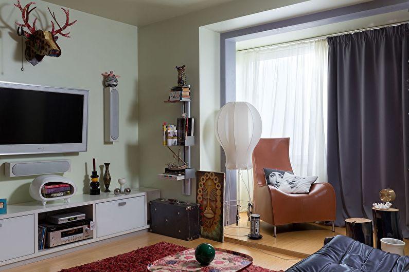 Дизайн маленькой квартиры 33 кв.м. в Киеве