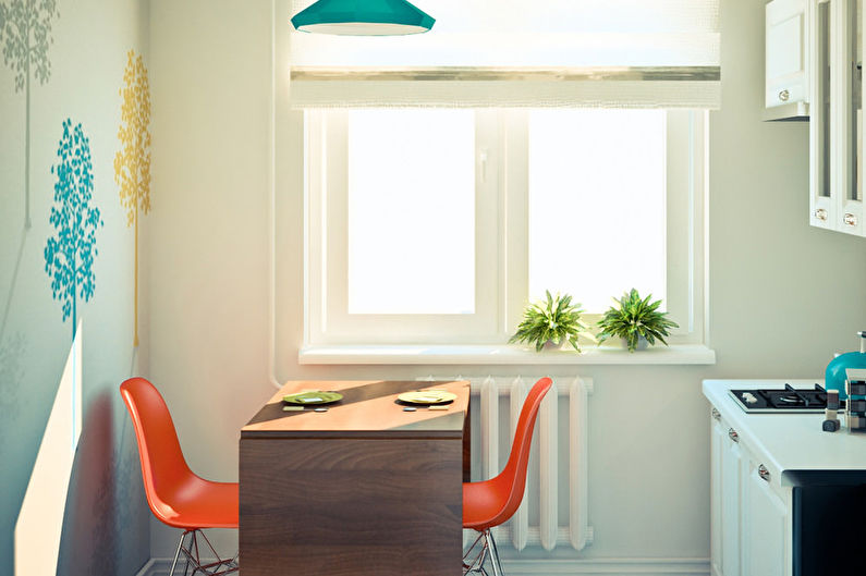 Дизайн интерьера маленькой квартиры 32 кв.м.